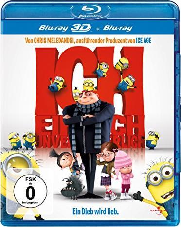 Ich - Einfach unverbesserlich (3D) (Blu-ray) -- via Amazon Partnerprogramm