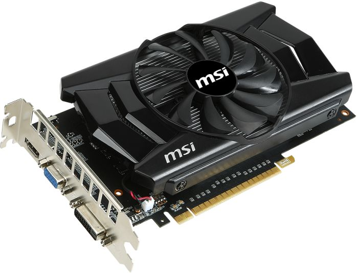 MSI GeForce GTX 750 Ti, N750 Ti-2GD5/OC, 2GB GDDR5, VGA, DVI, HDMI (V809-872R)