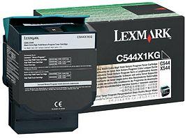 Lexmark Return Toner C544X1KG schwarz hohe Kapazität