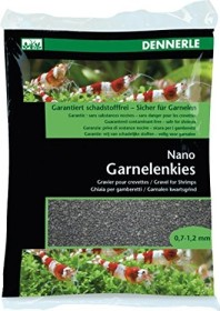 Dennerle Nano Garnelenkies Sulawesi schwarz 2kg (5913)