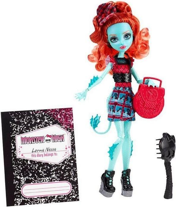 Mattel Monster High Schüler-Graustausch Lorna McNessie (CDC36)