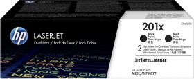 HP Toner 201X schwarz, 2er-Pack (CF400XD)