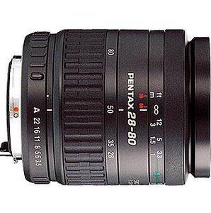 Pentax smc FA 28-80mm 3.5-5.6 czarny