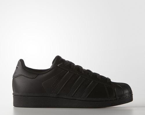new concept 35586 b5121 adidas Superstar core black (Junior) (B25724)