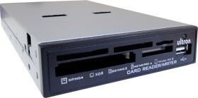 Ultron UCR 75in1 schwarz Multi-Slot-Cardreader, USB 2.0 9-Pin Stecksockel [Stecker] (42565)