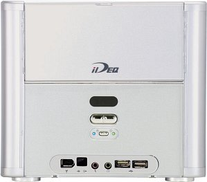 Biostar iDEQ 200V Mini-Barebone aluminium (Socket A/2.1GHz, PC2700 DDR)