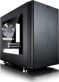 Fractal Design Define Nano S, Acrylfenster, schallgedämmt, Mini-ITX (FD-CA-DEF-NANO-S-BK-W)