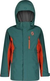 Scott B Vertic Dryo 10 Skijacke jasper green/orange pumpkin (Junior) (277727-6640)