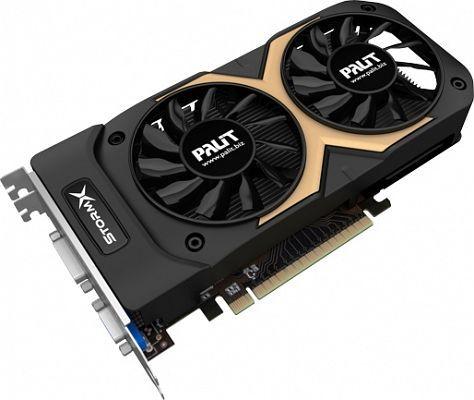 Palit GeForce GTX 750 Ti StormX Dual, 2GB GDDR5, VGA, DVI, Mini HDMI (NE5X75TT1341F)