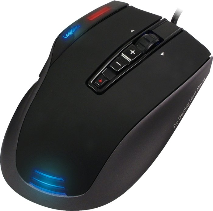LogiLink Q1 Revolution Laser Gaming Maus, USB (ID0054)