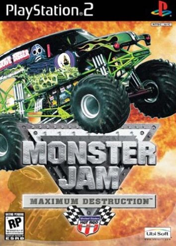 Monster Jam - Maximum Destruction (German) (PS2) -- via Amazon Partnerprogramm