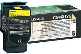 Lexmark Return Toner C544X1YG gelb hohe Kapazität