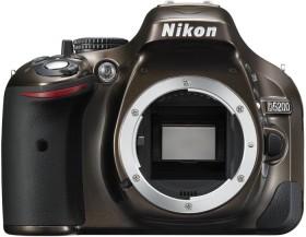 Nikon D5200 bronze mit Objektiv Fremdhersteller