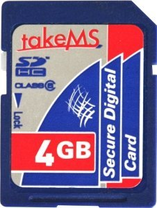takeMS SDHC 4GB, Class 6 (MS4096SDC-HC6R)