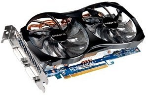 Gigabyte GeForce GTX 560, 1GB GDDR5, 2x DVI, mini HDMI (GV-N56GOC-1GI)