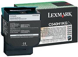 Lexmark Return Toner C540H1KG schwarz