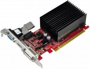 Gainward GeForce G 210 passiv,  512MB DDR3, VGA, DVI, HDMI (