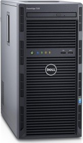 Dell PowerEdge T130, Xeon E3-1220 v6, 8GB RAM, 2TB HDD, Windows Server 2016 Standard, inkl. 10 User Lizenzen (FYH48/634-BIPU/BBBW)