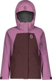 Scott G Vertic Dryo 10 Skijacke cassis pink/red fudge (Junior) (277728-6643)