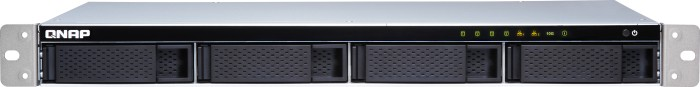 QNAP Turbo Station TS-431XeU-8G 20TB, 1x 10Gb SFP+, 2x Gb LAN, 1HE
