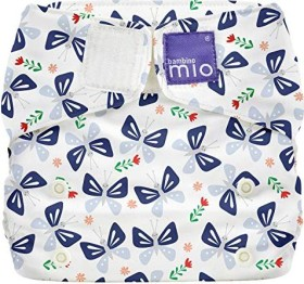 Bambino Mio Miosolo All-in-One Stoffwindel Butterfly Bloom, 4+kg, 1 Stück (SO BFLY)