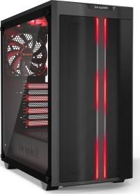 be quiet! Pure Base 500DX Red, Glasfenster, schallgedämmt (BGW42)