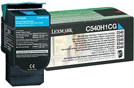 Lexmark Return Toner C540H1CG cyan