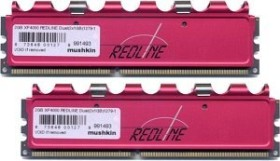 Mushkin Enhanced DIMM Kit Redline XP4000 2GB, DDR-500, CL3-3-2-8 (991493)