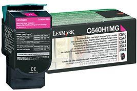 Lexmark Return Toner C540H1MG magenta