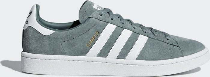 adidas Campus raw green/ftwr white/crystal white (Herren) (B37822)