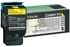 Lexmark Return Toner C540H1YG gelb