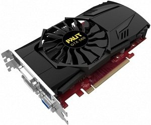 Palit GeForce GTX 560, 2GB GDDR5, VGA, 2x DVI, HDMI (NE5X56001142-1041F)