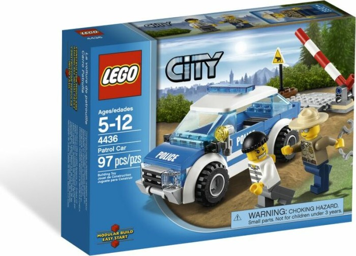 LEGO - City Forest Police - Patrol Car (4436) -- via Amazon Partnerprogramm