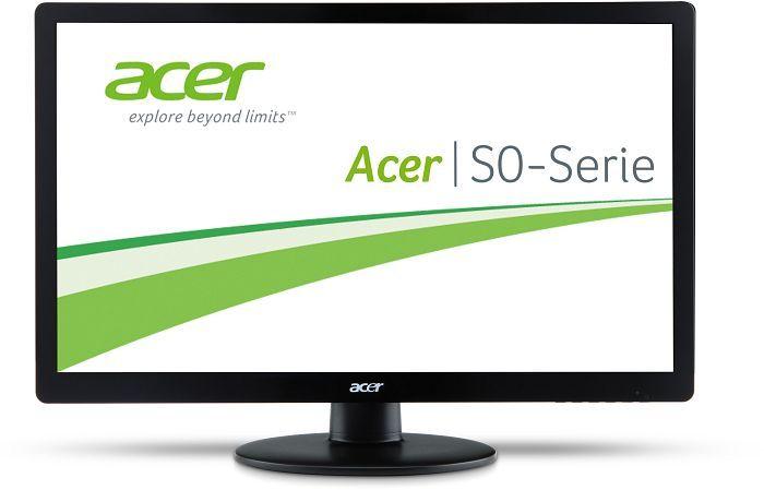 """Acer S0 Slim Line LED S240HLbd, 24"""" (ET.FS0HE.001)"""
