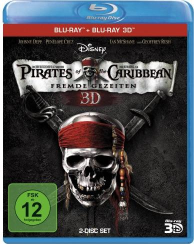 Pirates of the Caribbean - Fremde Gezeiten (3D) (Blu-ray) -- via Amazon Partnerprogramm