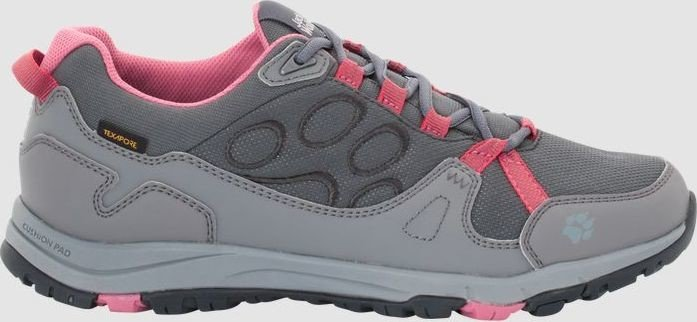 Jack Activate Rosewoodladies Texapore Wolfskin Low Nwkn0P8OX