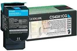 Lexmark Return Toner C540A1CG cyan