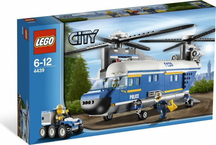 LEGO - City Forest Police - Heavy-lift Helicopter (4439) -- via Amazon Partnerprogramm