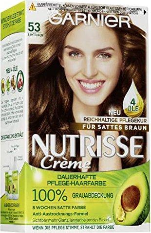 Garnier Nutrisse Creme Haarfarbe 53 Macadamia ab u20ac 539 de (2018) | heise online Preisvergleich ...