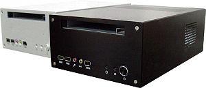 SilverStone Lascala LC12A silver, 120W SFX12V, mini-ITX (SST-LC12S-120)