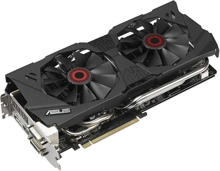 ASUS Strix GeForce GTX 780 OC, STRIX-GTX780-OC-6GD5, 6GB GDDR5, 2x DVI, HDMI, DP (90YV04H4-M0NA00)