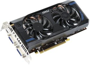 MSI N560GTX-M2D1GD5, GeForce GTX 560, 1GB GDDR5, 2x DVI, mini HDMI (V232-086R/V232-272R)