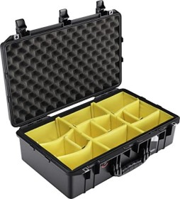 Peli Air case 1555 Protective case with padded compartment division black (1555WD)