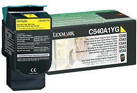 Lexmark Return Toner C540A1YG gelb