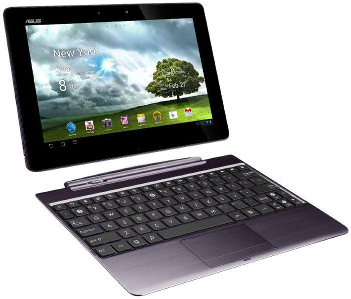 ASUS Eee Pad Transformer TF700T + KeyboardDock 64GB grau (TF700T-1B130A)