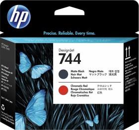 HP Printhead 744 black matte/chromatic red (F9J88A)