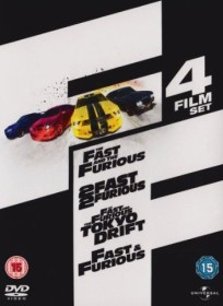 The Fast And The Furious Box (movies 1-4) (UK)