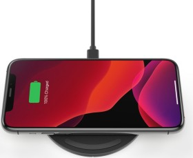 Belkin BoostCharge 10W Wireless Charging Pad + QC 3.0 Wall Charger + Cable schwarz (WIA001vfBK)