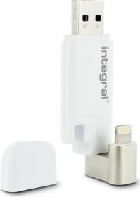 Integral iShuttle iPhone-iPad 128GB, USB-A 3.0/Lightning (INFD128GBISHUTTLE)