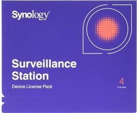 Synology Camera Licence Pack, 4 User (englisch) (PC)